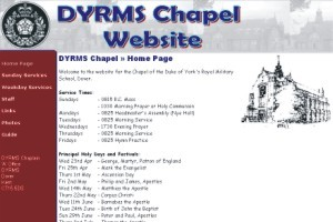 DYRMS Chapel