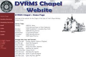 DYRMS Chapel